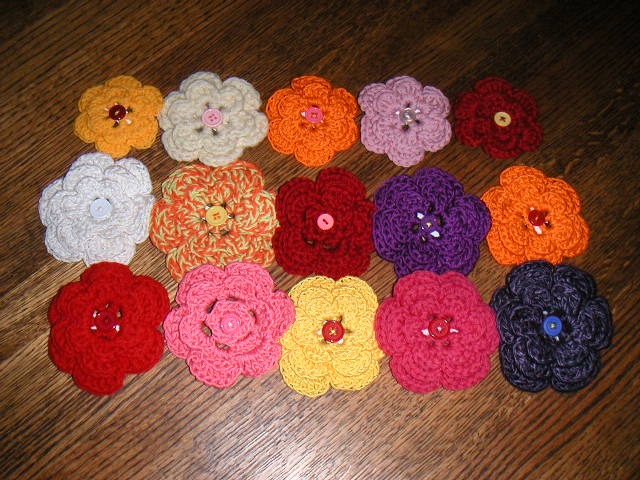 Free Crochet Flowers Patterns